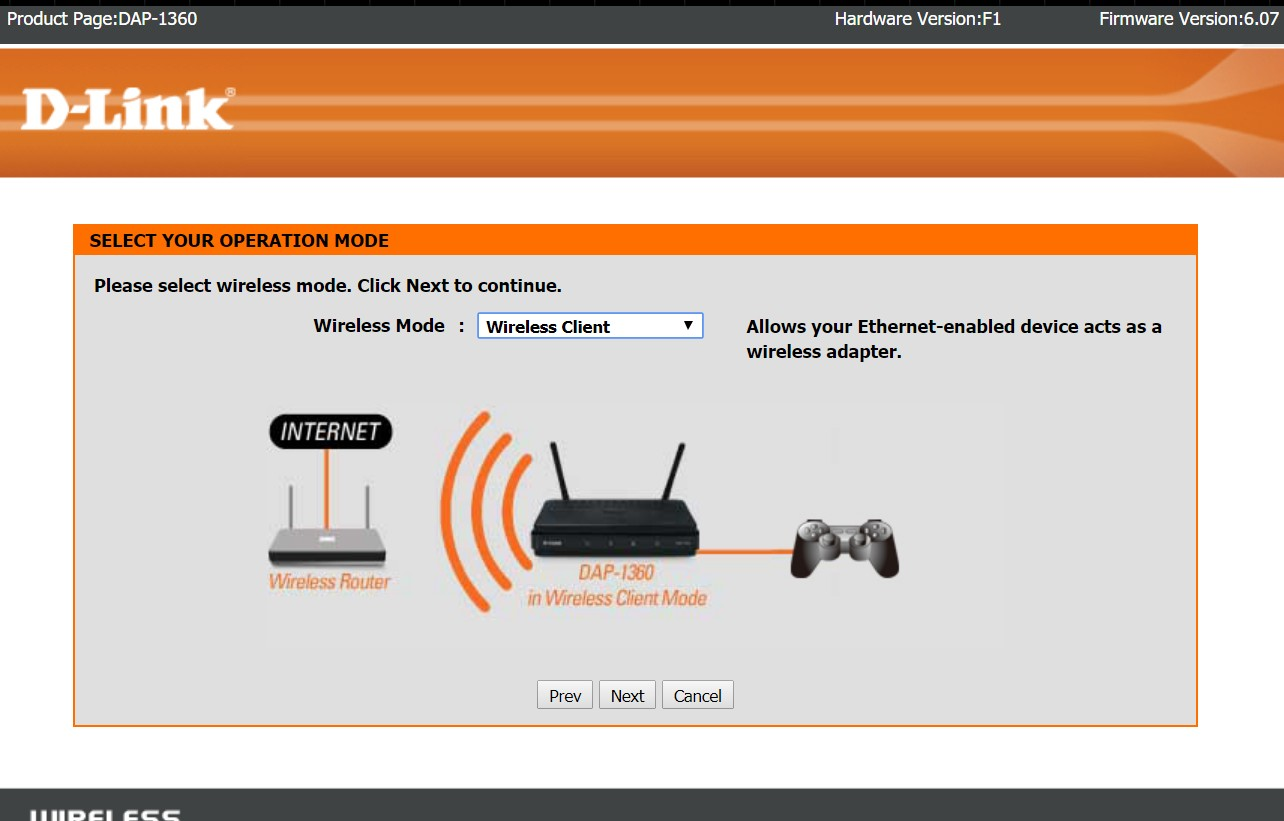How To Setup D-Link DAP-1360 As WiFi to Ethernet Bridge